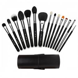15-piece Makeup Brush Set with Holder